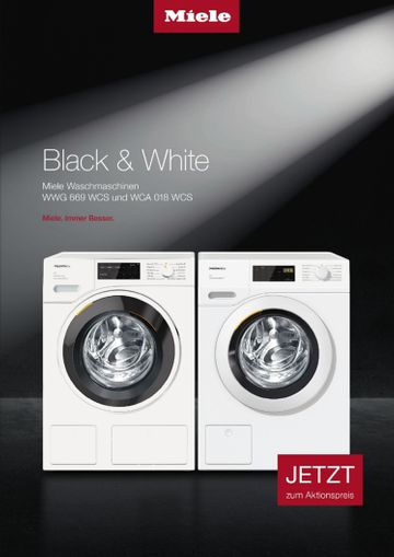 Miele - Black & White